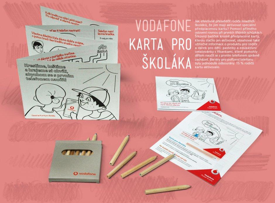 Vodafone Karta Pro Skolaka Imc Czech Awards